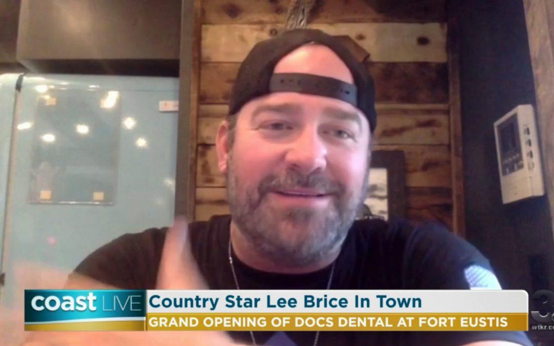 WTKR TV – Coast Live with Lee Brice